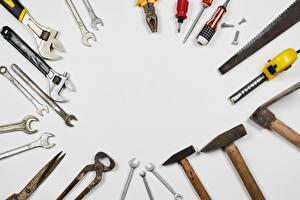 Hintergrundbilder Werkzeuge Grauer Hintergrund Vorlage Grußkarte