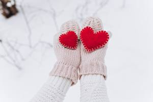 Hintergrundbilder Valentinstag Herz Fausthandschuhe Hand
