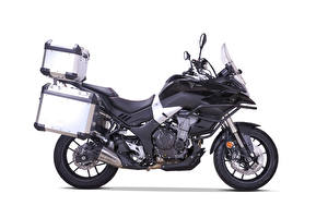 Image Black Side White background Voge 500 DS, Adventure Kit, 2020 Motorcycles