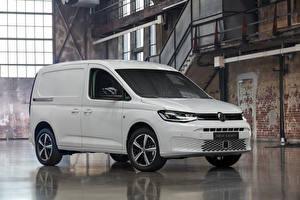 Bakgrunnsbilder Volkswagen Hvite Metallisk 2020 Caddy Kasten Worldwide