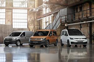 Bakgrunnsbilder Volkswagen Tre 3 Flerbruksbil 2020 Caddy Biler