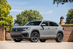Pictures Volkswagen Crossover Gray Metallic Atlas Cross Sport SE R-Line, 2020 auto