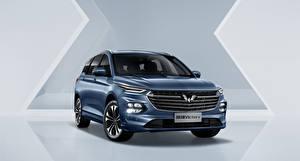 Bilder Vorne Kombi Metallisch Chinesisch Wuling Victory, 2020 Autos
