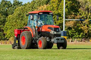 Bilder Landwirtschaftlichen Maschinen Traktor 2018-20 Kubota L2501