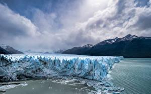 Fotos Argentinien Berg Park Wolke Eis Los Glaciares National Park