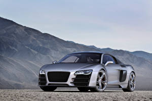 Pictures Audi Gray Metallic R8 V12 TDI Concept, 2008 Cars