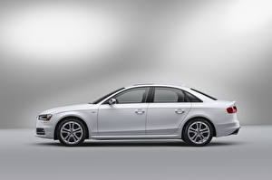 Photo Audi White Metallic Side