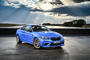 Images BMW Light Blue Metallic 2019 M2 CS Worldwide Cars