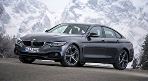 Images BMW Grey Coupe 4-series, Gran Coupe, Sport Line, 2017