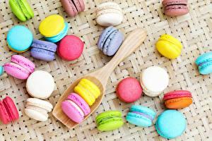 Wallpaper Cookies Macaron Multicolor