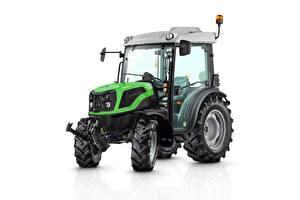 Bilder Traktoren Weißer hintergrund Deutz-Fahr 3060, 2020