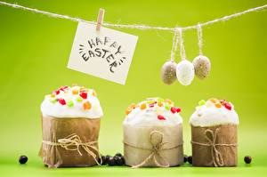 Wallpaper Easter Kulich Text Eggs Peg English Food