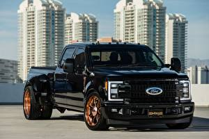 Pictures Ford Pickup Black F-350, Super Duty, 2014