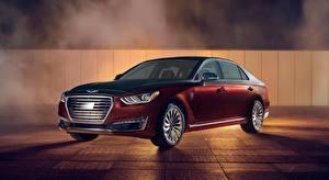 Wallpapers Hyundai Sedan Metallic Genesis G90, Vanity Fair, Special Edition, US-spec, 2018 Cars