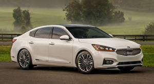 Images KIA Sedan White Cadenza SXL, US-spec, 2016 Cars