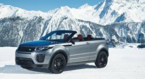 Image Land Rover Snow Silver color Cabriolet Metallic Evoque, Convertible Si4 HSE Dynamic, 2016