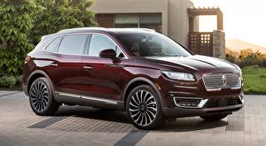 Images Lincoln Wine color Nautilus, Black Label, 2018 Cars