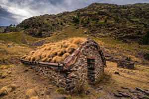 Fotos Gebirge Stein Park Andorra Coma Pedrosa National Park Natur