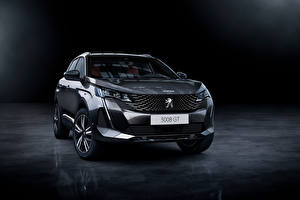 Images Peugeot CUV Gray Metallic Front 3008 GT, 2020 automobile