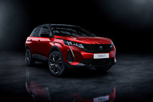 Image Peugeot CUV Red Metallic 3008 GT, 2020 Cars