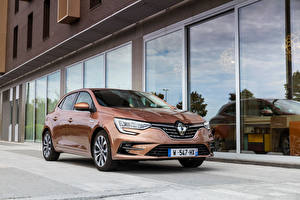 Bakgrundsbilder på skrivbordet Renault Brun Metallisk Megane Edition One, 2020 Bilar