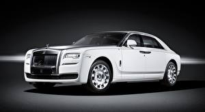 Images Rolls-Royce White Luxurious Sedan Ghost, Eternal Love, 2016 auto