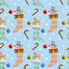 Images Texture New year Socks