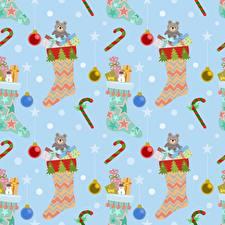 Hintergrundbilder Textur Neujahr Socken