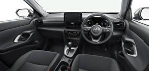 Bakgrunnsbilder Toyota Salons CUV Bil ratt Yaris Cross Hybrid G, JP-spec, 2020 automobil