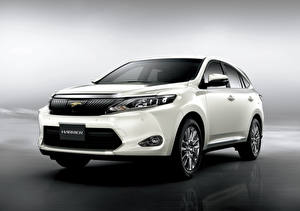 Wallpapers Toyota White Metallic Crossover