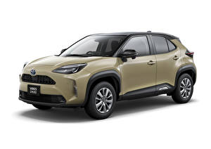 Images Toyota Crossover Metallic White background Yaris Cross Hybrid G, JP-spec, 2020 auto