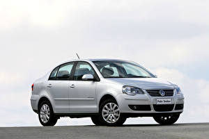 Image Volkswagen Silver color Metallic Polo Sedan Comfortline 1.6 8V, 2009 automobile
