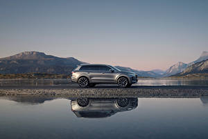 Pictures Water CUV Grey Metallic Side Reflected Chinese Lixiang ONE, 2020 automobile