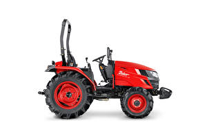 Wallpaper Tractors Red Side White background Zetor Compax CL 35, 2020