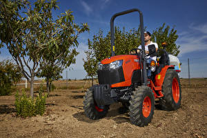 Wallpaper Agricultural machinery Tractor 2018-20 Kubota B2261