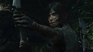 Fonds d'écran Archers Tomb Raider Boue Main Lara Croft Shadow of the Tomb Raider jeu vidéo