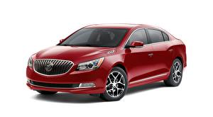 Image Buick White background Red Sedan LaCrosse, Sport Touring, 2015 automobile