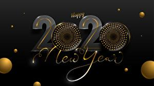 Wallpapers New year 2020