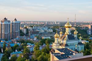 Papel de Parede Desktop Igreja Kiev Ucrânia