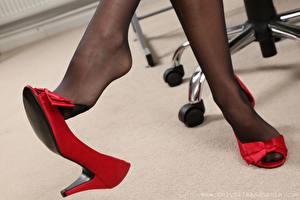 Hintergrundbilder Nahaufnahme Bein Stöckelschuh Strumpfhose Mädchens