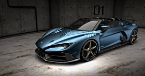 Desktop wallpapers Roadster Concept Italdesign Zerouno Duerta auto