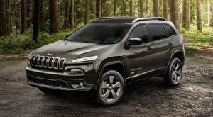 Fonds d'écran Jeep Grise Cherokee, 75th Anniversary, 2016 Voitures
