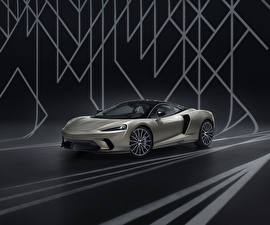 Tapety na pulpit McLaren Szary 2020 GT by MSO