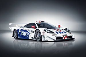 Wallpapers McLaren Tuning White 1997 F1 GTR Longtail