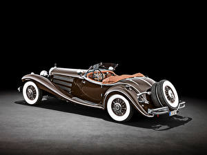 Pictures Mercedes-Benz Retro Roadster Brown 500 K Special Roadster (W 29), 1934 automobile