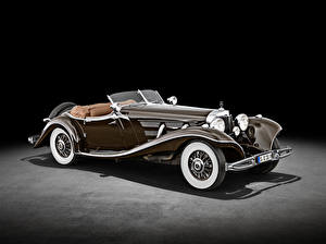 Picture Mercedes-Benz Retro Roadster Brown 500 K Special Roadster (W 29), 1934 Cars