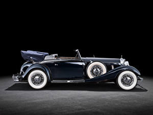 Desktop wallpapers Mercedes-Benz Vintage Cabriolet Side  auto