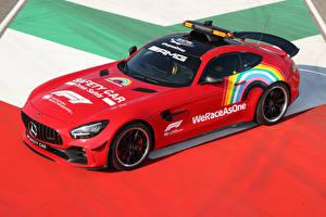 Fotos & Bilder Mercedes-Benz Tuning Rot 2020 AMG GT R F1 Safety Car Autos