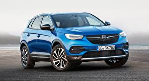 Images Opel Blue Front CUV Grandland X, Turbo, 2017