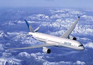 Hintergrundbilder Flugzeuge Verkehrsflugzeug Boeing B787